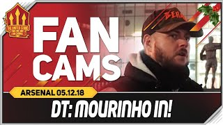 DT | MOURINHO IN! Manchester United 2-2 Arsenal Fancam
