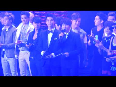 130309 Music Bank in Jakarta Opening - SHINee and Super Junior