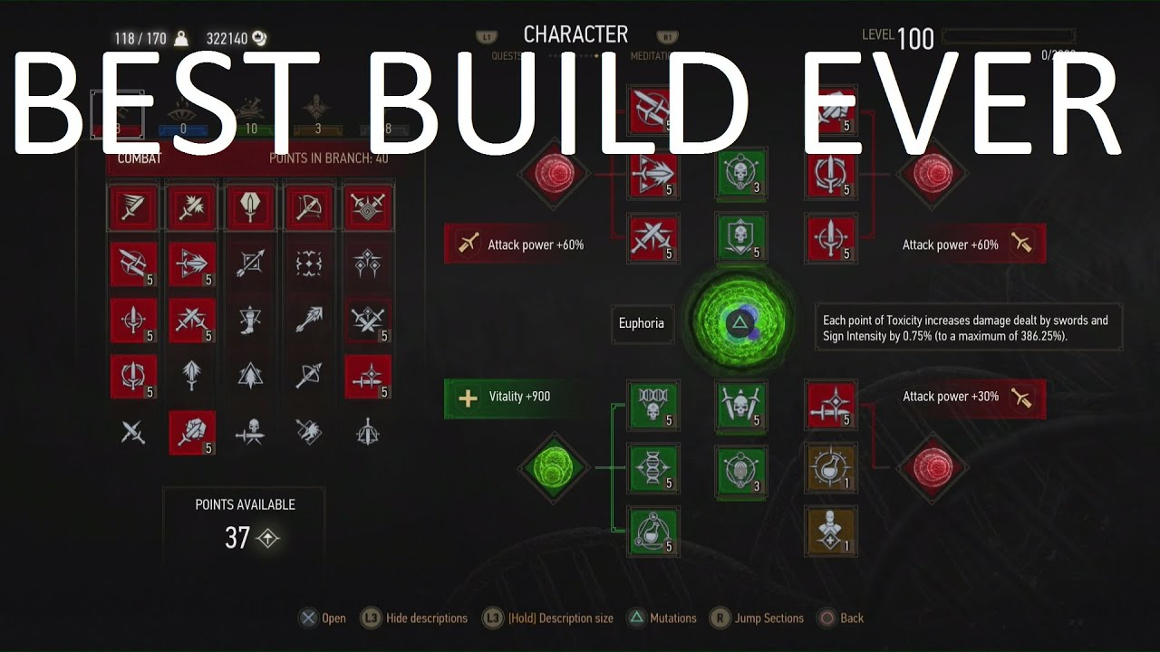 The Witcher  Alchemy Build
