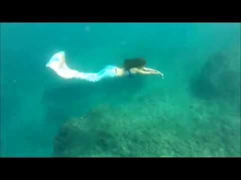 Real life mermaid in Jounieh lebanon