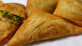 New snack recipe | No Oven, No Maida, No baking powder & Soda | Easy&Simple Puff pastry | Snacks