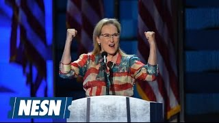 Dana White Responds to Meryl Streep
