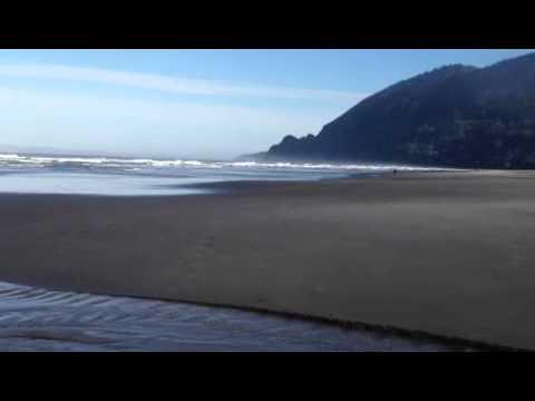 Manzanita OR beach quiet morning