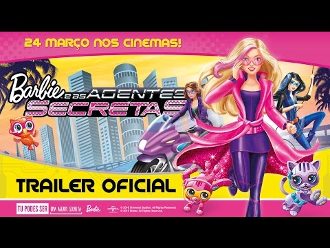 """""""Barbie e as Agentes Secretas"""" - Trailer Oficial Dobrado (Universal Pictures Portugal)"""