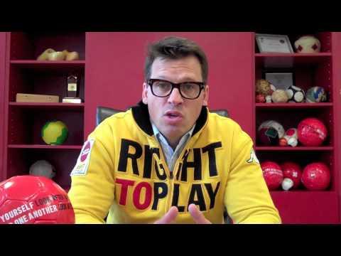 Olympic Gold Medalist Johann Olav Koss Supports 2012 Hours Against Hate