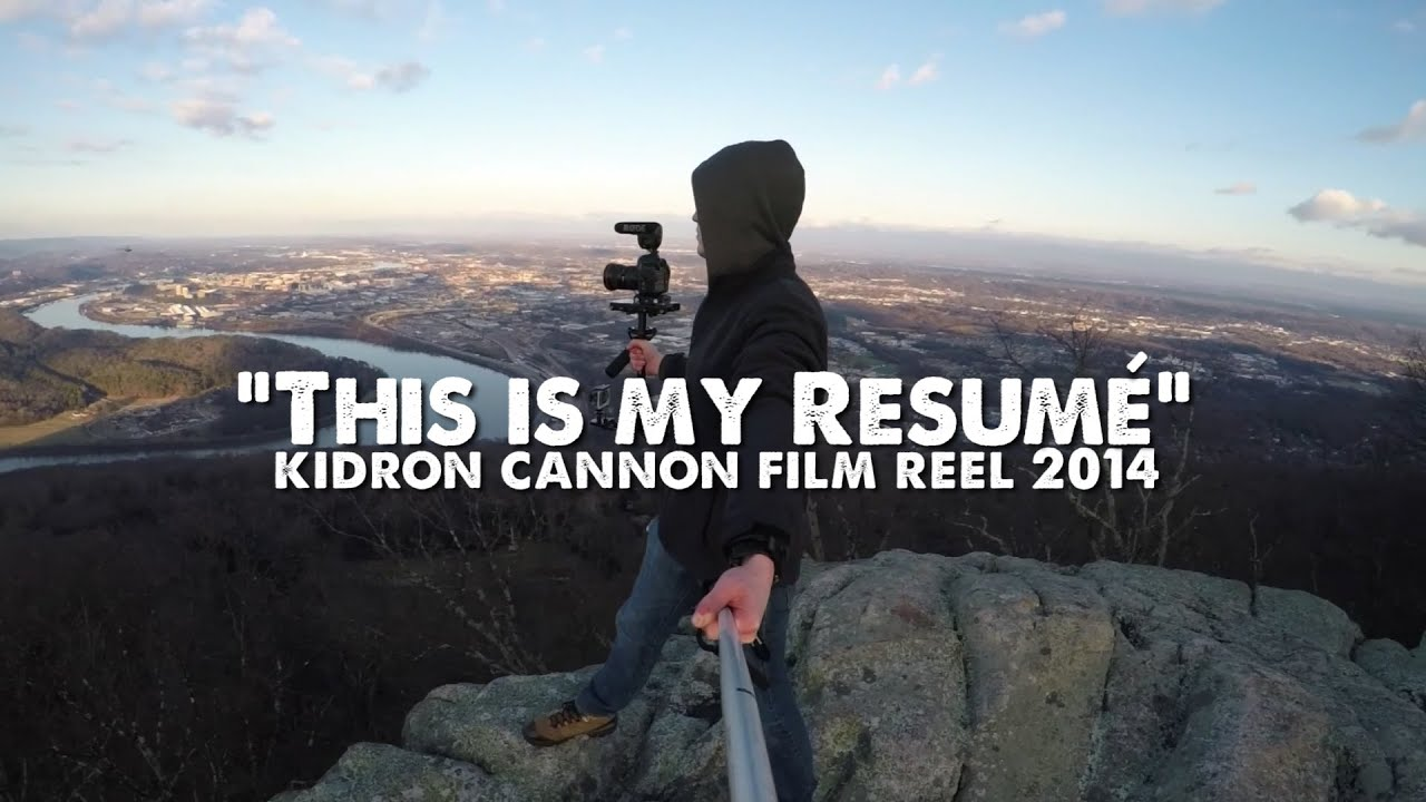 quot this is my resum 233 quot kidron cannon reel 2015