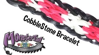 Monster Tail® Cobblestone Bracelet by the Rainbow Loom