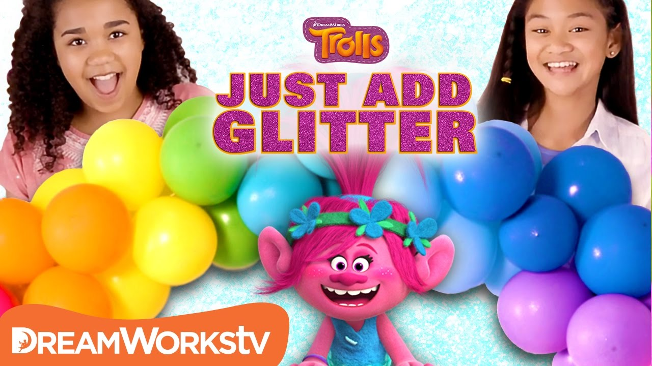 Diy Trolls Party Decorations Just Add Glitter Trolls