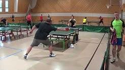 Das Stoerspiel mit Material  in den unteren Ligen 20181003 Kitzingen Tischtennis Stadtmeisterschafte