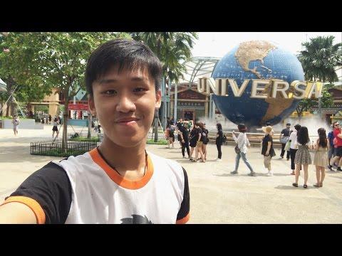 Vlog#3 去新加坡 (UNIVERSAL STUDIO)
