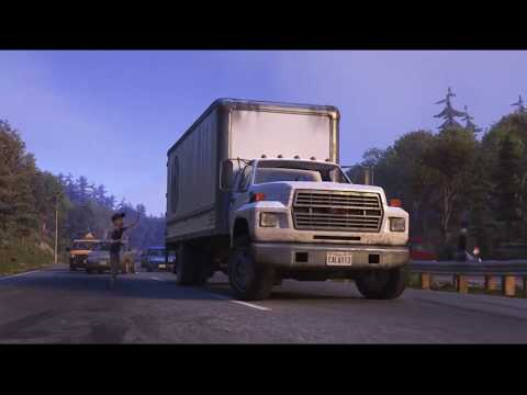 OCTOPUS DRIVING A TRUCK..FROM CARTOON FINDING DORY