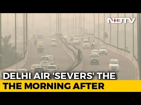 Delhi's Air Quality Slips Post-Diwali, But Better Than Last