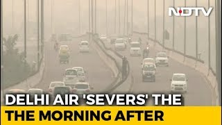 Delhi's Air Quality Slips Post-Diwali, But Better Than Last 3 Years