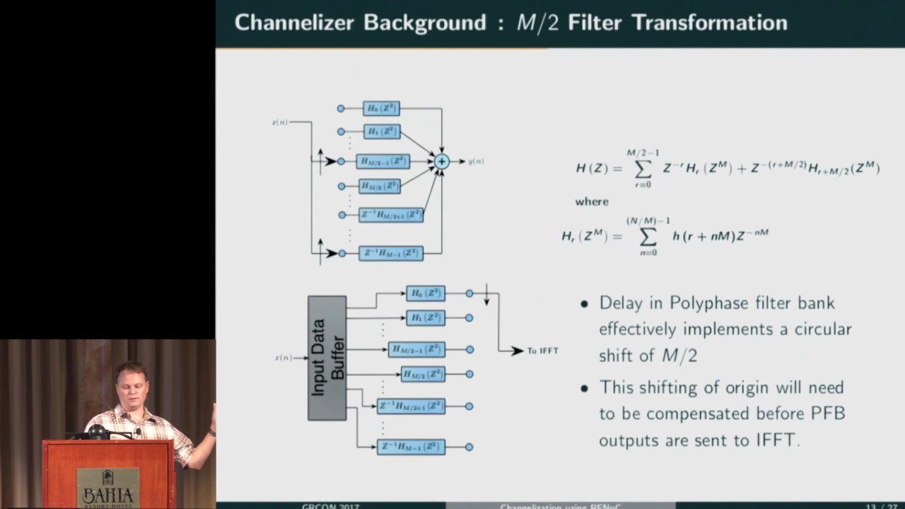 GRCon17 - Real-Time Channelization Using RFNoC Infrastructure - Philip  Vallance