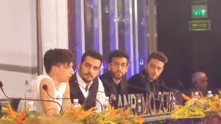 Sanremo 2019, Ultimo contro i giornalisti dopo la vittoria di Mahmood | Notizie.it