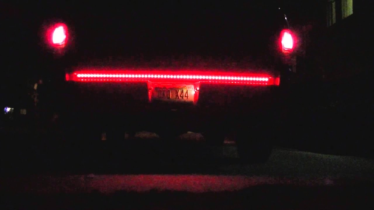 Rampage Led Tailgate Light Bar Installation Wire Diagram 60 You