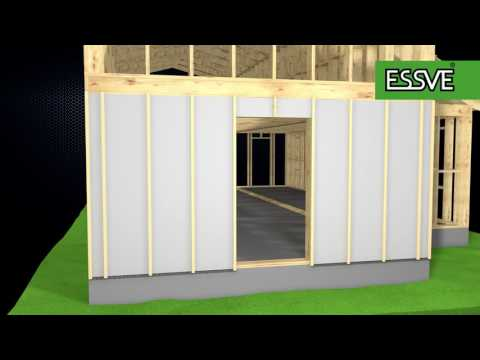 How to install wood siding Part 1
