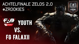 fabE Youth Vs. FG FalaXii | Achtelfinale Zelos 2.0 | #ZRookies | FAB Games eSports