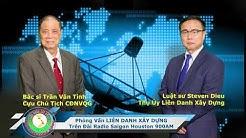 Phỏng vấn LIÊN DANH XÂY DỰNG trên đài Radio Saigon Houston 900AM.