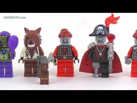 LEGO Halloween custom minifigs: Adults! - YouTube