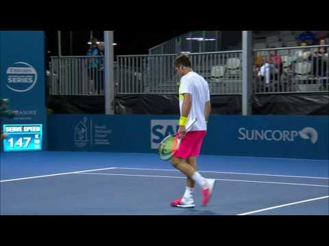 Zverev v De Minaur highlights (1R) | Brisbane International 2017