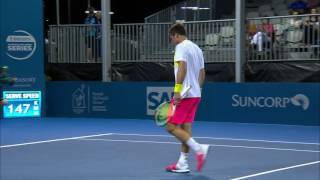 Zverev v De Minaur highlights (1R) | Brisbane International 2017