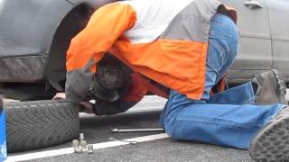 снятие колеса, тормозного диска, суппорта колодок Ford Focus II(, 2014-02-24T07:48:47.000Z)