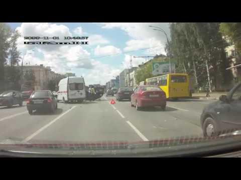 ДТП 17.06.2019 на ул. Лежневская (г. Иваново)