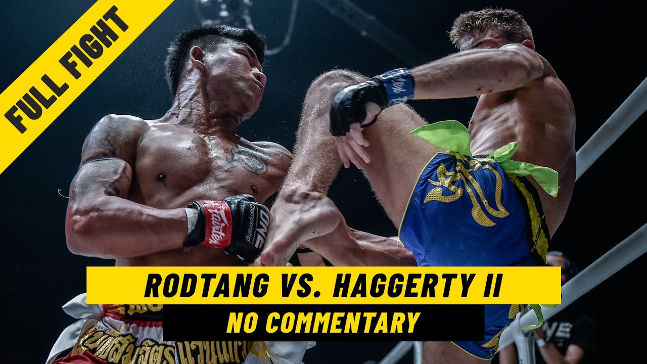 Rodtang vs. Jonathan Haggerty II | Full Fight WITHOUT Commentary