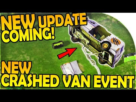 NEW UPDATE INBOUND + NEW CRASHED VAN EVENT + PACK HUNT- Last Day on Earth Jurassic Survival Gameplay