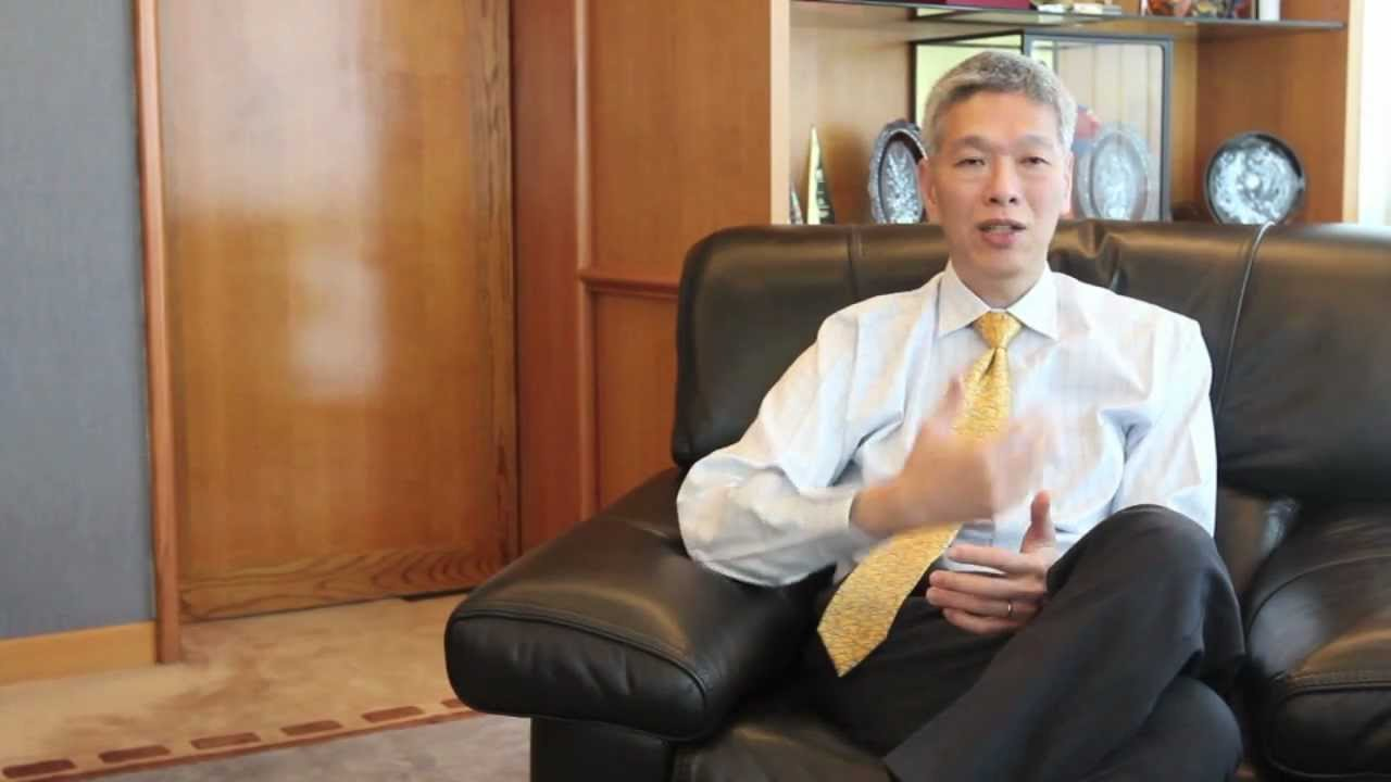 Lee Hsien Yang Distinguished Business Leaders Mr Lee Hsien Yang YouTube