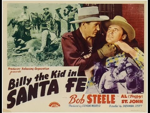Billy the Kid in Santa Fe [1941] Sam Newfield