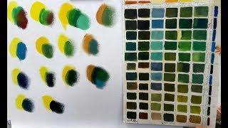 Как получить зеленый цвет? Воздействие цвета на человека.