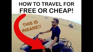 How to travel for free or cheap || Travel Cheap Abroad || THIS IS INSANE !