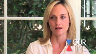 Amber Valletta Wants you to Pledge to Vote at ourtime.org