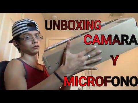 Unboxing - Camara Y Microfono