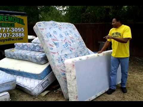 Junkguysaustin Mattress Removal And Disposal Bed Bug Austin Texas