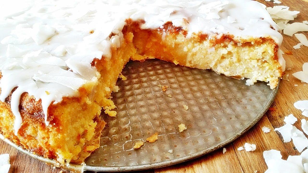 Kokos Kuchen Rezept Schneller Buttermilchkuchen Mit Kokos Der
