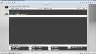 Linux Mint Shell Scripting for Beginners -Part 1