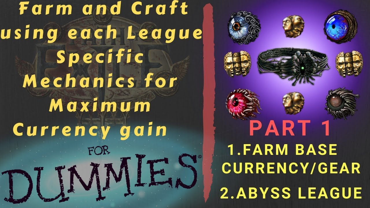 [Path of Exile 3 6] League Farm and Crafting Series Guide for Currency,  Part 1!