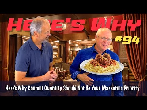Here's Why Content Quantity Should Not Be Your Marketing Priority