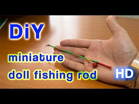 DIY Make A Doll Fishing Rod  [ Works 100% ]