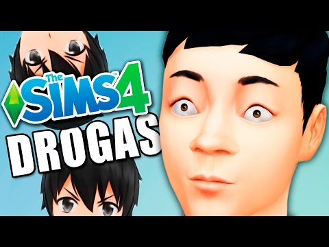 SENPAI EN DROGAS!! - SIMS 4