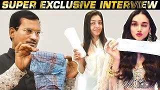 Sanitary Pad Selfies! What it can do? | Reveals Padman Arunachalam Muruganantham | Super Interview