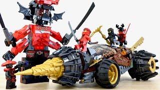 レゴ ニンジャゴー 70669 コールのアースドリラー LEGO NINJAGO Cole