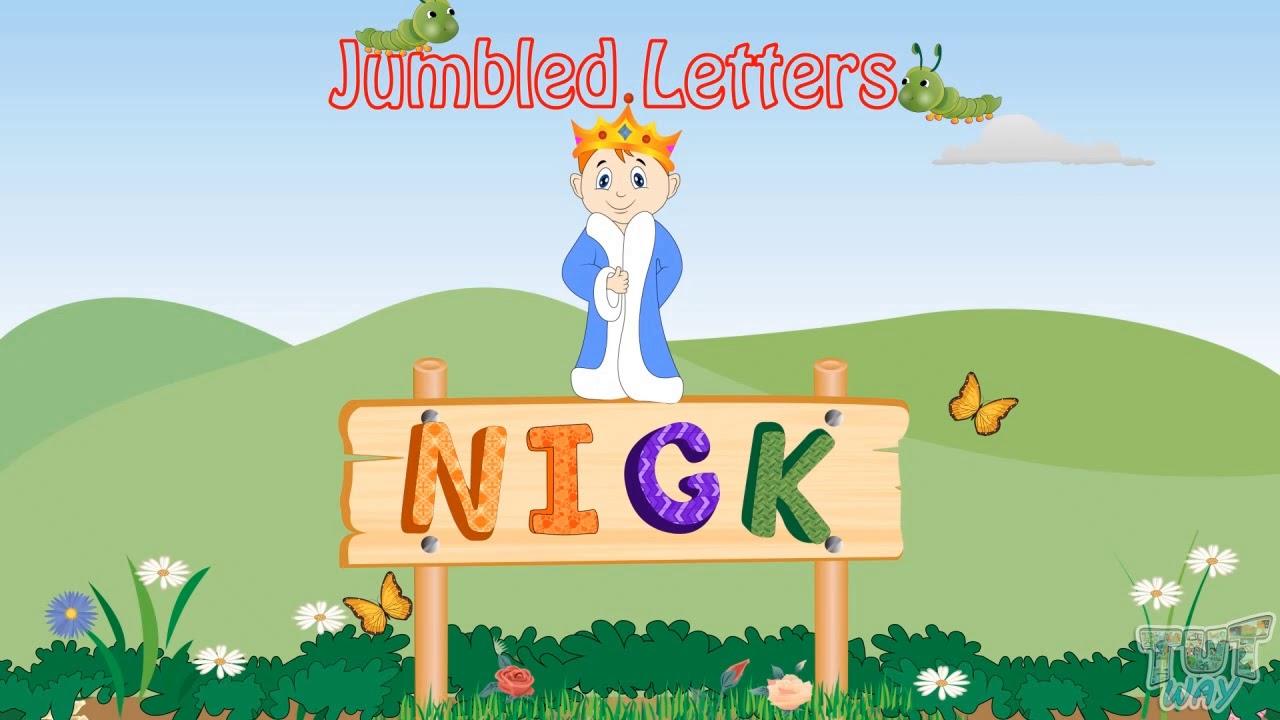 Download Jumbled Letters | Englilsh | Kindergarten | Tutway |