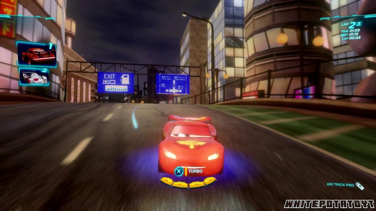 Cars 2 The Video Lightning Mcqueen Vista Run Whitepotatoyt