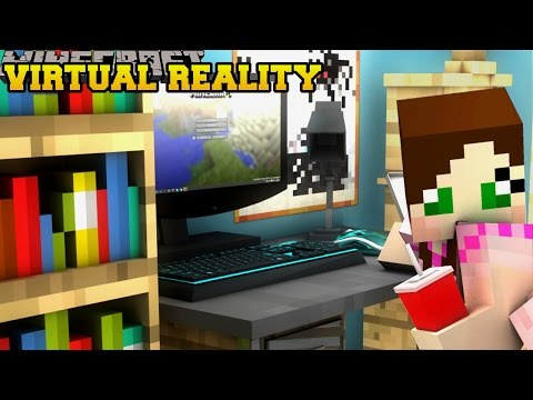 Minecraft: VIRTUAL REALITY - THE VIRUS - Custom Map