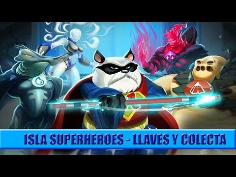 Isla superheroes | Llaves - Premios y recoleccion | Monster Legends