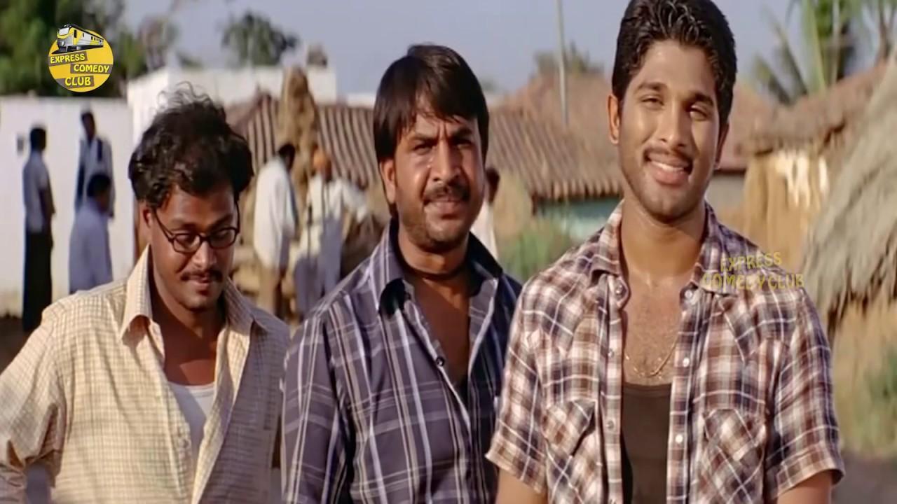 Tollywood Most Popular Allu Arjun Comedy Scene | #Alluarjun | Express Comedy Club